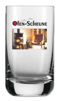 Trinkglas 200 ml bedruckt