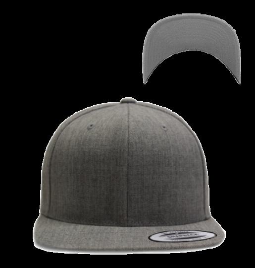 Classic Snapback Dark Grey | uni