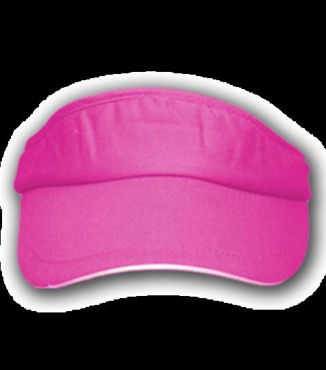 Cap Sport Visor Farbe pink | Einheitsgrösse