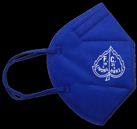 FFP2-Maske mittelblau