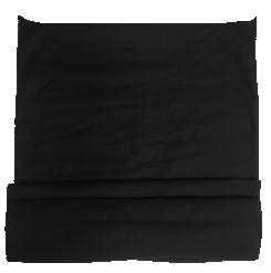 Schlauchschal   Multifunktionstuch Schwarz
