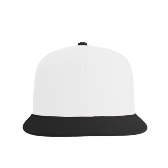 Fitted Snapback White/Black